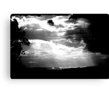 Summer Storm ... Canvas Print