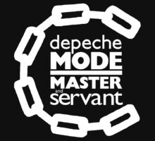 Depeche Mode : Master And Servant - White by Luc Lambert