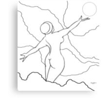 Free Spirit Digital Line drawing Canvas Print