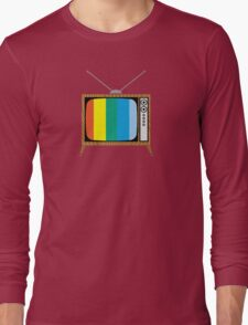 Retro TV Long Sleeve T-Shirt