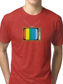 Retro TV Tri-blend T-Shirt