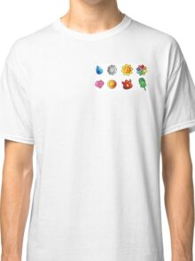 pokemon kanto badges Classic T-Shirt