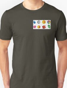pokemon kanto badges T-Shirt