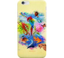 Paint the World iPhone Case/Skin