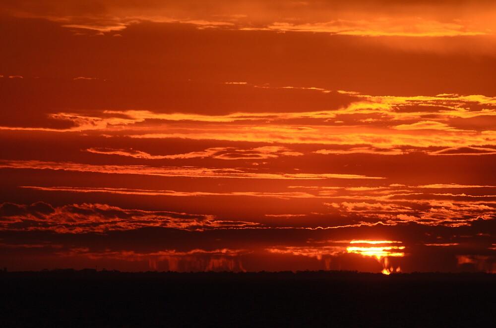 St Kilda Sunset by wolfcat