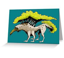 TREEGON Greeting Card