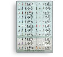 Pro Cycling Teams Metal Print