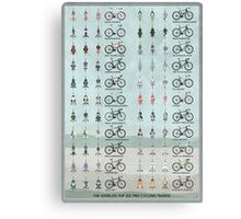 Pro Cycling Teams Canvas Print