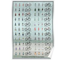 Pro Cycling Teams Poster