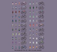Pro Cycling Teams Kids Tee