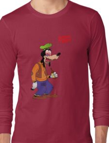 Booze Goofy Long Sleeve T-Shirt