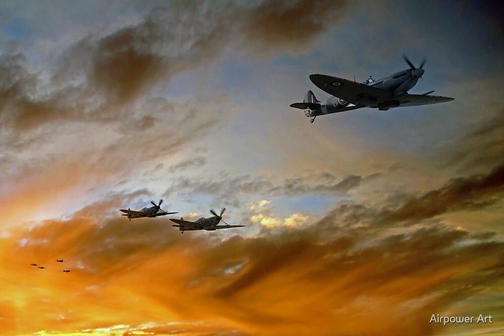 Squadron Scramble by J Biggadike