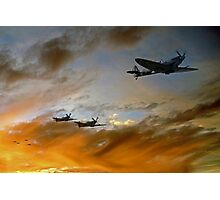 Squadron Scramble Photographic Print