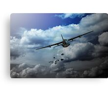 Supply Drop Canvas Print