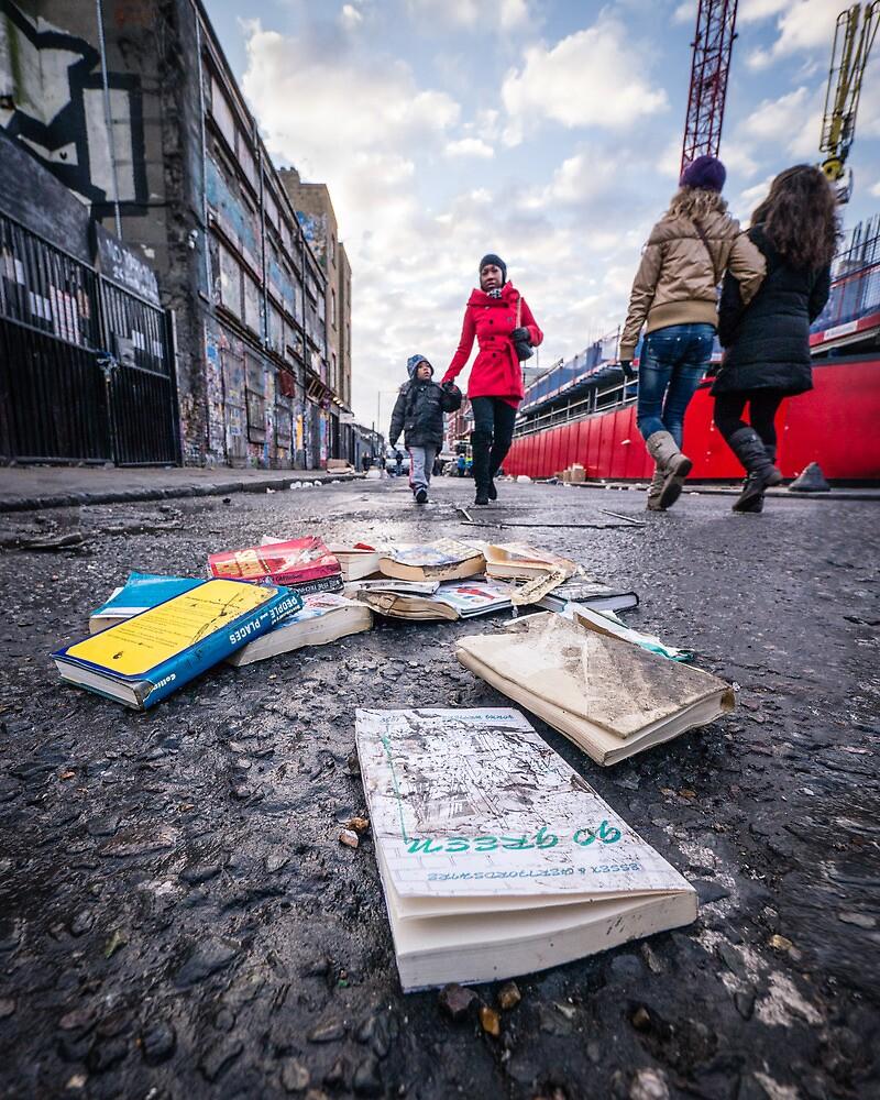 Brick Lane London by Heather Buckley