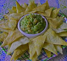 GUACAMOLE PLUS CHIPS by gracestout2007