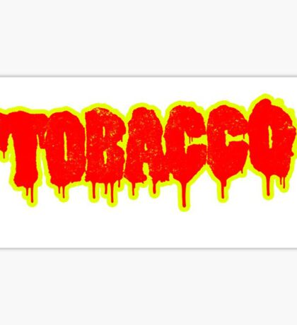TOBACCO Sticker