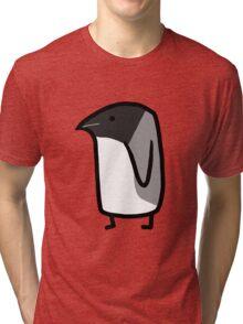 Giant penguin Tri-blend T-Shirt