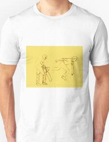 Bowled in Sepia Unisex T-Shirt