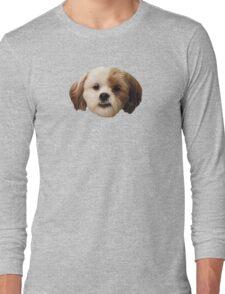 Fuzzy Face of Cuteness Long Sleeve T-Shirt