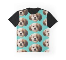 Fuzzy Face of Cuteness Graphic T-Shirt