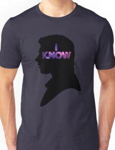 Star Wars Han 'I Know' Black Silhouette Couple Tee Unisex T-Shirt