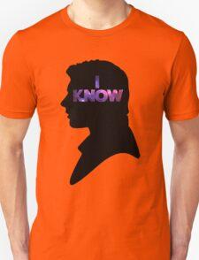 Star Wars Han 'I Know' Black Silhouette Couple Tee T-Shirt