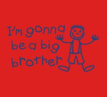 I'm gonna be a big brother One Piece - Short Sleeve