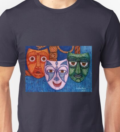 The joy, the anger and the fear  Unisex T-Shirt