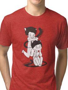 dan & phil neko  Tri-blend T-Shirt