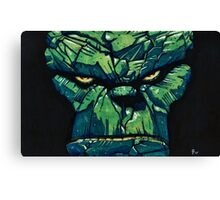Blue Thing Canvas Print