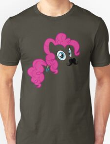 Pinkie Pie invisible mustache T-Shirt