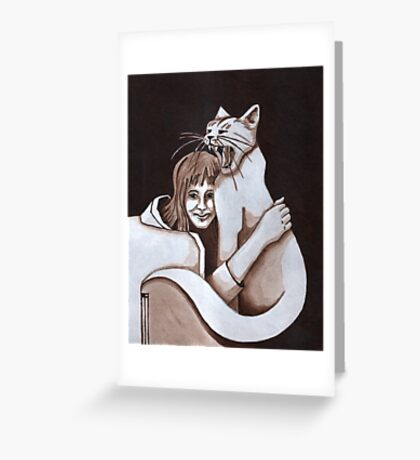 shielded Greeting Card