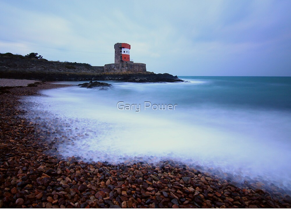 Winter at Archirondel Jersey by Gary Power