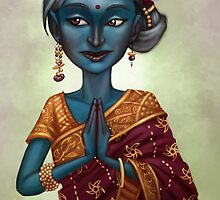 Shiva Priestess  by Amata415