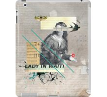 Lady in Waiting iPad Case/Skin