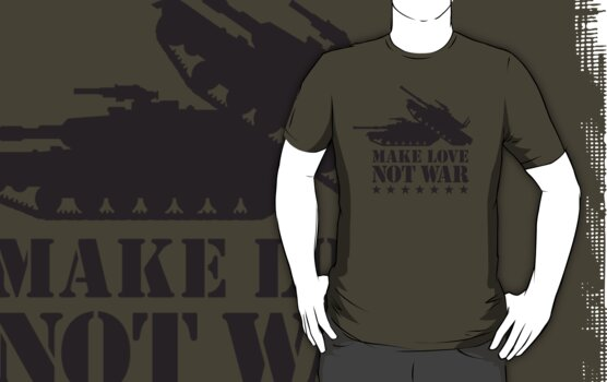 Make love not war - Tank by LaundryFactory