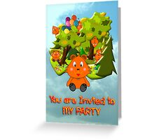 Teddy Bear's Picnic - party invitation Greeting Card