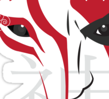 Gods in Red and White Sticker