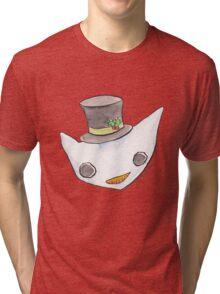 """""""Oro?"""" Christmas Series-Snowman Tri-blend T-Shirt"""
