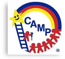 Camp CAMP Canvas Print