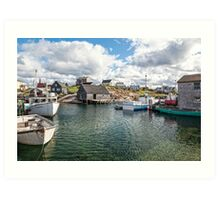 Peggy's Cove II Art Print