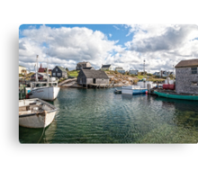 Peggy's Cove II Canvas Print