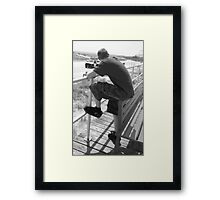 lonely doesn't mean your alone. Framed Print