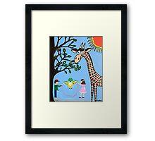 Natures Playground Framed Print