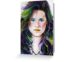 Kristen Stewart Greeting Card