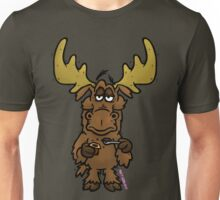 Chocolate Moose  Unisex T-Shirt