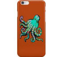 Orange Octopus iPhone iPhone Case/Skin