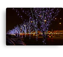 Infinite Christmas Trees Canvas Print