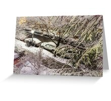 Marlborough Nightful of Snow and Light Greeting Card